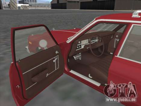 Plymouth Volare Wagon 1976 pour GTA San Andreas vue de droite