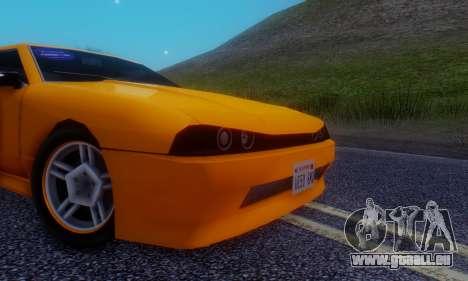 Elegy Hatchback v.1 für GTA San Andreas Innenansicht