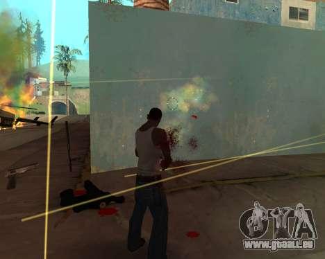 Rainbow Effects pour GTA San Andreas quatrième écran