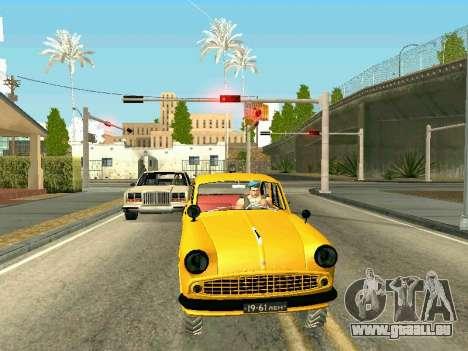 Moskvich 410 En pour GTA San Andreas laissé vue