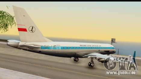 Embraer 175 PLL LOT Retro pour GTA San Andreas laissé vue