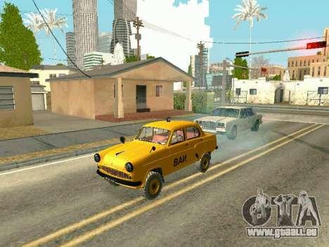 Moskvich 410 En pour GTA San Andreas vue de droite