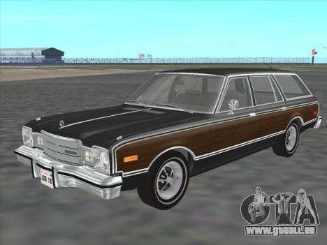 Plymouth Volare Wagon 1976 wood für GTA San Andreas