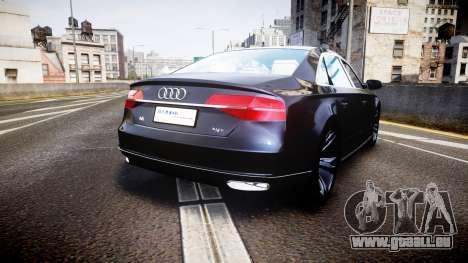Audi A8 L 2015 Chinese style für GTA 4 hinten links Ansicht