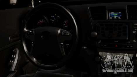Toyota Hilux SW4 2014 Forca Tatica pour GTA San Andreas vue arrière