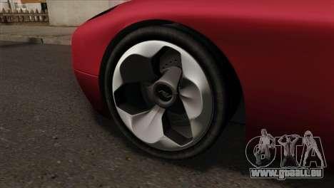 Bullet PFR v1.0 für GTA San Andreas zurück linke Ansicht