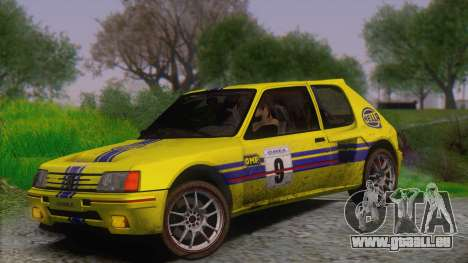 Wheels Pack v.2 für GTA San Andreas her Screenshot