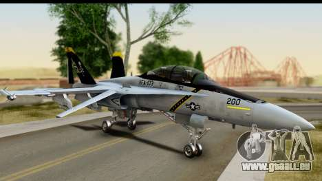 FA-18D VFA-103 Jolly Rogers pour GTA San Andreas