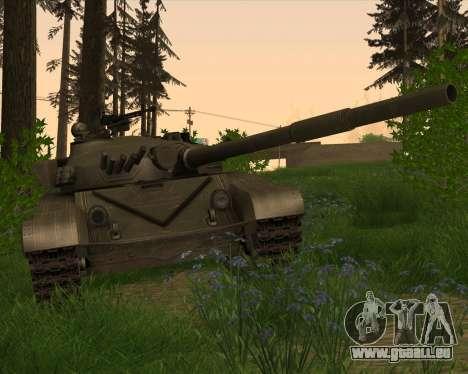 T-72 pour GTA San Andreas vue intérieure