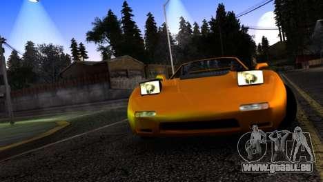 ZR-350 by Verone v.1 pour GTA San Andreas vue intérieure