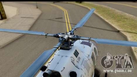MBB Bo-105 Argentine Police pour GTA San Andreas vue de droite