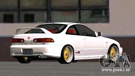 Honda Integra Type R 2000 für GTA San Andreas zurück linke Ansicht
