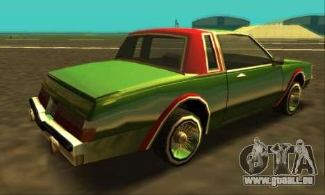 Majestic Restyle pour GTA San Andreas moteur