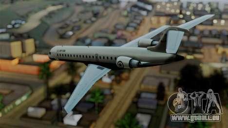 GTA 5 Buckingham Miljet pour GTA San Andreas laissé vue