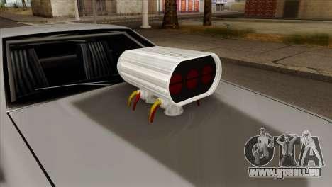 Buffalo Supercharged pour GTA San Andreas vue de droite