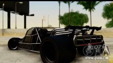 Flip Car 2012 für GTA San Andreas linke Ansicht
