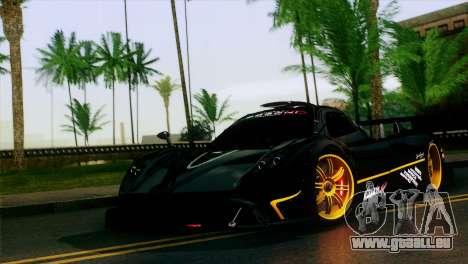 Pagani Zonda R für GTA San Andreas