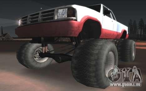 Neue Texturen Letzte Monster für GTA San Andreas Innenansicht