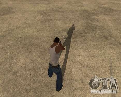 L'ombre des gens et des voitures pour GTA San Andreas deuxième écran