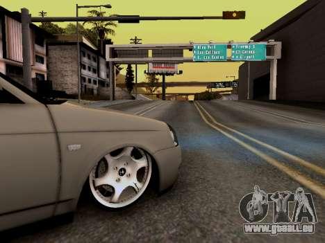 ВАЗ 2172 (Lada Priora) pour GTA San Andreas vue de droite
