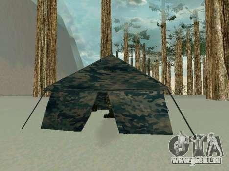 Tente pour GTA San Andreas