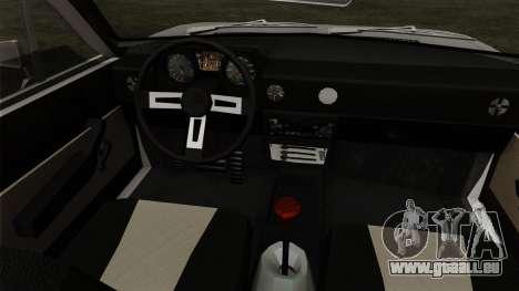 Alfa Romeo Alfasud Sprint für GTA San Andreas zurück linke Ansicht