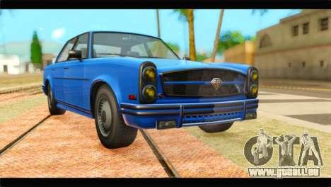 GTA 5 Benefactor Glendale Special für GTA San Andreas