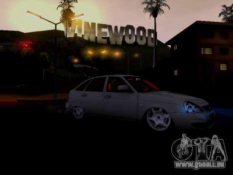 ВАЗ 2172 (Lada Priora) für GTA San Andreas Seitenansicht