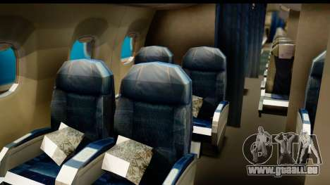 Embraer 175 PLL LOT Retro für GTA San Andreas Rückansicht