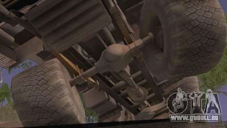 KamAZ 43101 für GTA San Andreas rechten Ansicht