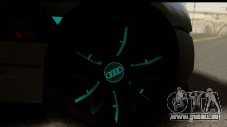 Audi A9 Concept pour GTA San Andreas sur la vue arrière gauche