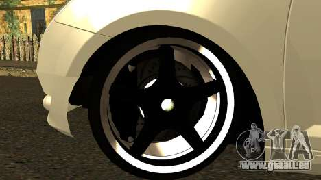 Alfa Romeo Mito Tuning pour GTA San Andreas vue intérieure