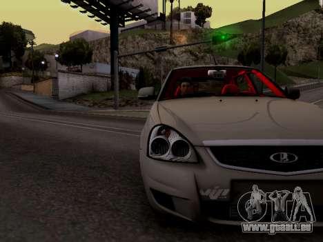 ВАЗ 2172 (Lada Priora) pour GTA San Andreas vue arrière