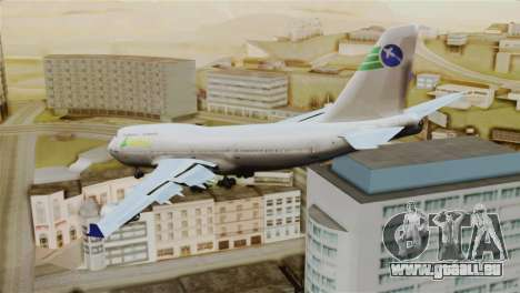 GTA 5 Caipira Airways für GTA San Andreas linke Ansicht