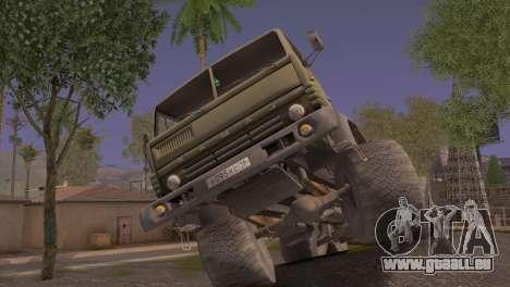 KamAZ 43101 pour GTA San Andreas