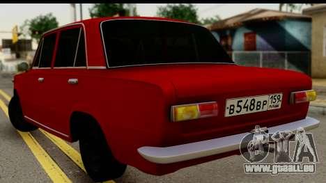 VAZ 2101 FOX pour GTA San Andreas laissé vue