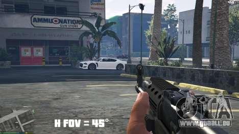 GTA 5 FOV mod v1.3 troisième capture d'écran