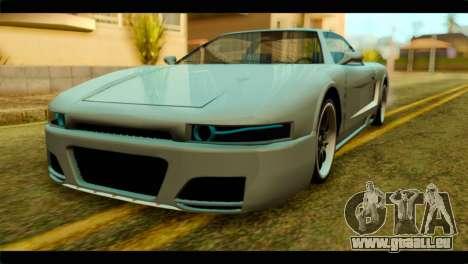 Infernus Rapide S pour GTA San Andreas