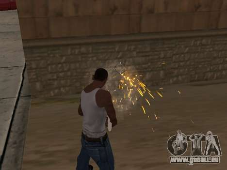 Surdosage effets (sans poussière) pour GTA San Andreas deuxième écran