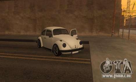 Volkswagen Beetle 1984 pour GTA San Andreas vue de côté