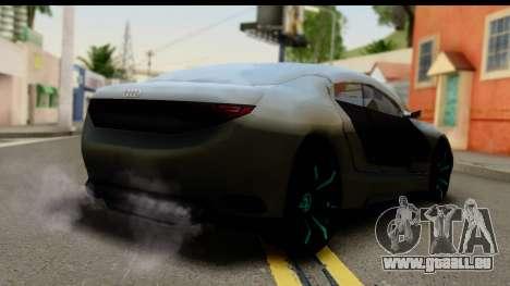 Audi A9 Concept pour GTA San Andreas laissé vue