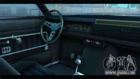 GTA 5 Benefactor Glendale Special IVF pour GTA San Andreas vue de droite