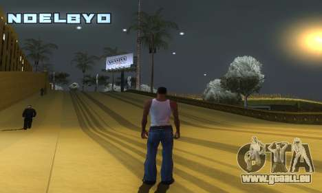 ENB Series v077 Light Effect für GTA San Andreas fünften Screenshot