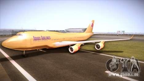 GTA V 747 Adios Airlines für GTA San Andreas