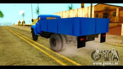 ZIL 130 pour GTA San Andreas laissé vue