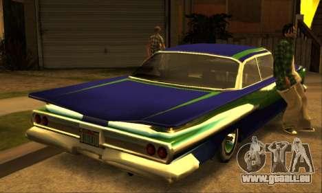 Luni Voodoo für GTA San Andreas Rückansicht