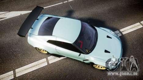 Nissan GT-R R35 Rocket Bunny [Update] pour GTA 4 est un droit