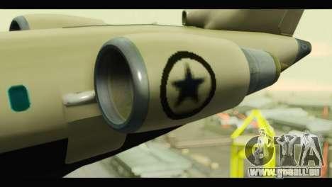 GTA 5 Buckingham Miljet Update für GTA San Andreas rechten Ansicht
