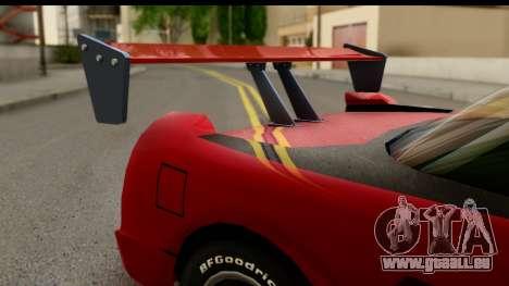 Tuned Infernus für GTA San Andreas rechten Ansicht