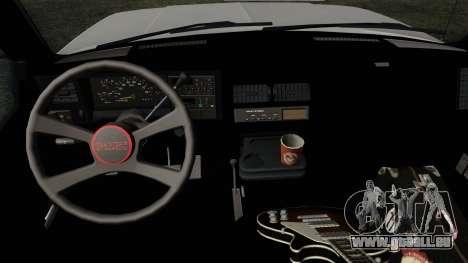 GMC Sierra 2500 1992 Extended Cab Final für GTA San Andreas rechten Ansicht